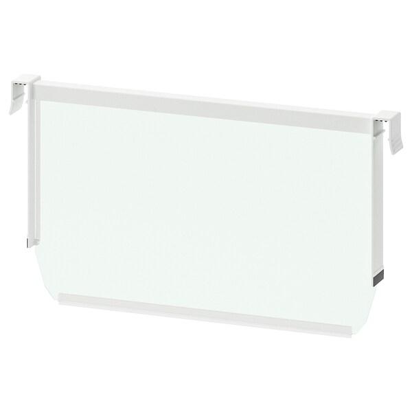 MAXIMERA Séparateur pour tiroir haut, blanc/transparent, 40 cm
