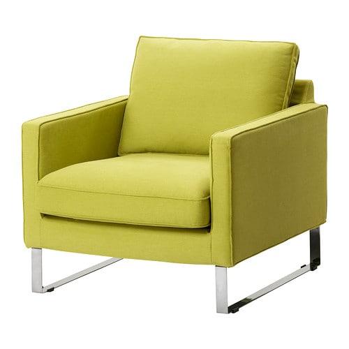 Mellby housse de fauteuil dansbo jaune vert ikea Ikea housse de fauteuil