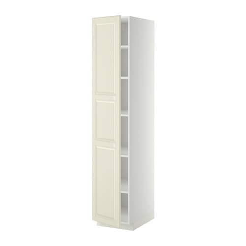 metod armoire avec tablettes bodbyn blanc cass 40x60x200 cm ikea. Black Bedroom Furniture Sets. Home Design Ideas