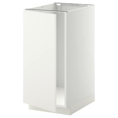 METOD él bs évier/tri blanc/Häggeby blanc 40.0 cm 61.6 cm 88.0 cm 60.0 cm 80.0 cm