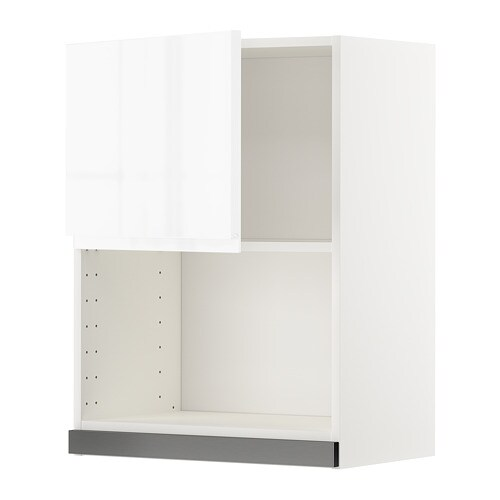 metod l mural pr micro ondes voxtorp brillant blanc 60x80 cm ikea. Black Bedroom Furniture Sets. Home Design Ideas