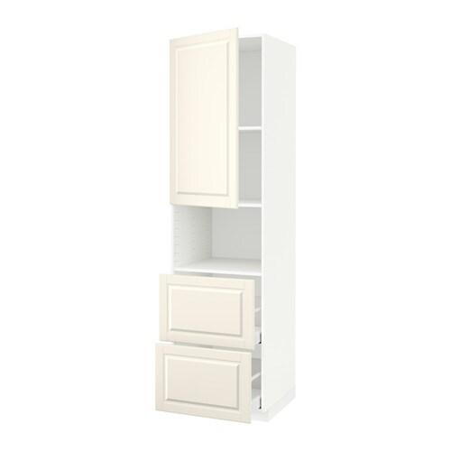 metod maximera armoire micro ondes av porte 2 tir bodbyn blanc cass 60x60x220 cm ikea. Black Bedroom Furniture Sets. Home Design Ideas