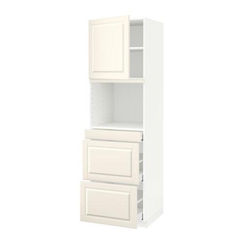 metod maximera armoire micro ondes av porte 3 tir bodbyn blanc cass 60x60x200 cm ikea. Black Bedroom Furniture Sets. Home Design Ideas