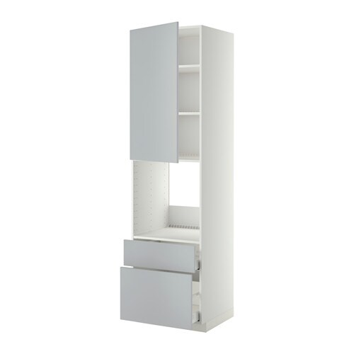metod maximera armoire pour four porte 2 tiroirs blanc. Black Bedroom Furniture Sets. Home Design Ideas