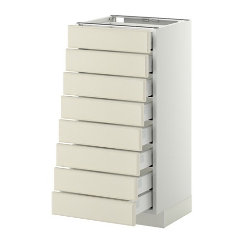 metod maximera l ment bas 8faces 8tiroirs bas bodbyn blanc cass 40x37 cm ikea. Black Bedroom Furniture Sets. Home Design Ideas