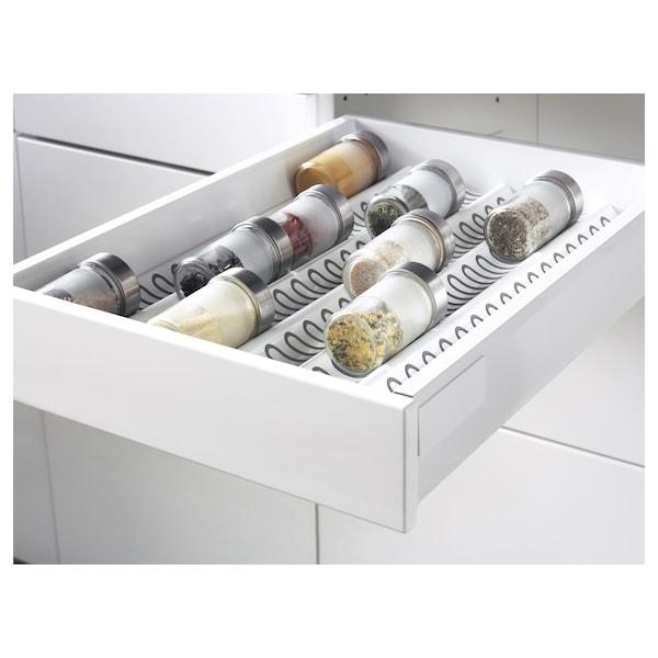 METOD / MAXIMERA Élt bas 2faces/2tir bas+1moy+1haut, blanc/Ringhult blanc, 40x60 cm