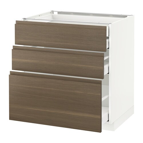 metod maximera lt bas 3faces 2tir bas 1moy 1haut voxtorp motif noyer 80x60 cm ikea. Black Bedroom Furniture Sets. Home Design Ideas