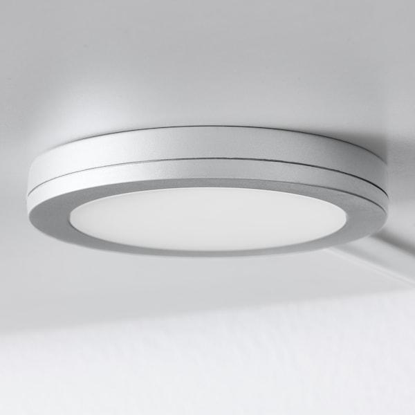 MITTLED Spot à LED, intensité lumineuse réglable couleur aluminium