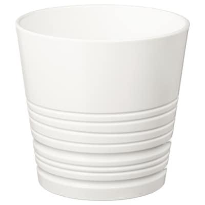 MUSKOT Cache-pot, blanc, 15 cm