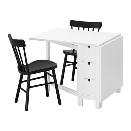 norden norraryd table et 2 chaises ikea. Black Bedroom Furniture Sets. Home Design Ideas