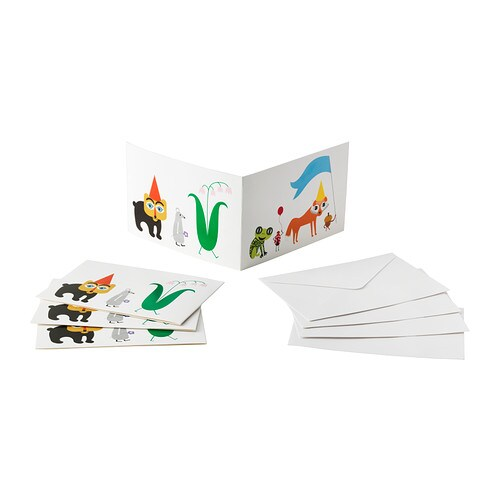 verl gsen carte avec enveloppe ikea. Black Bedroom Furniture Sets. Home Design Ideas