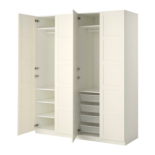 pax armoire penderie 200x60x236 cm ikea. Black Bedroom Furniture Sets. Home Design Ideas