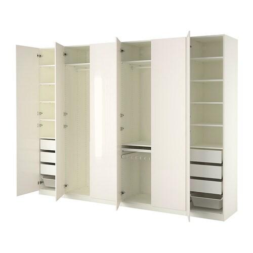 pax armoire penderie 300x60x236 cm ikea. Black Bedroom Furniture Sets. Home Design Ideas