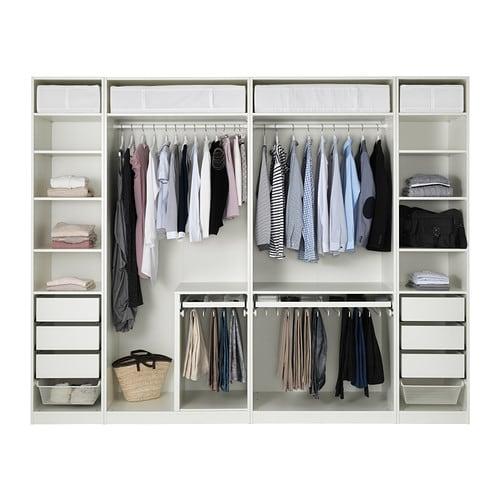 pax armoire penderie 300x58x236 cm ikea. Black Bedroom Furniture Sets. Home Design Ideas