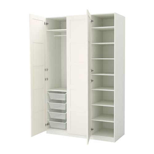 Pax armoire penderie 150x60x236 cm charni res standard ikea - Armoire penderie blanc ...