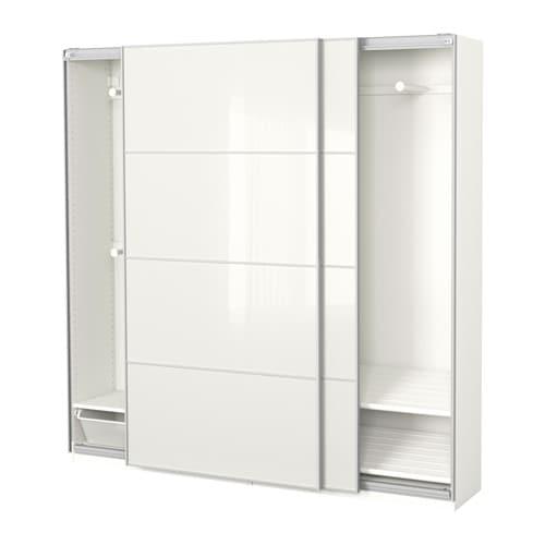 pax armoire penderie 200x44x201 cm accessoire de. Black Bedroom Furniture Sets. Home Design Ideas