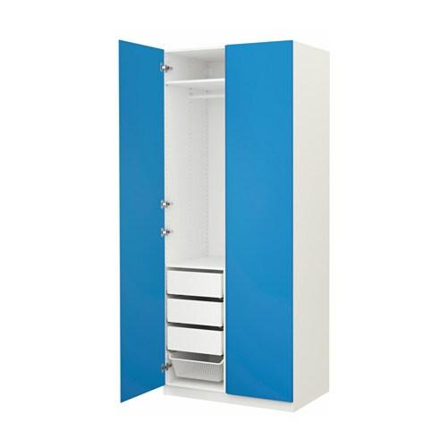 Pax armoire penderie charni res standard 100x60x236 cm for Comhauteur penderie standard
