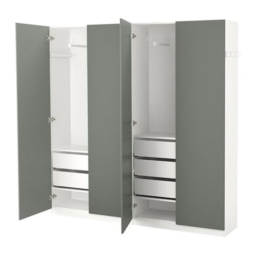 Armoire Pax Penderie 200x38x201 Ikea Cm xodBeC