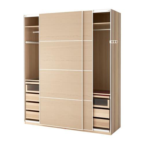 pax armoire penderie 200x66x236 cm accessoire de fermeture silencieuse ikea. Black Bedroom Furniture Sets. Home Design Ideas