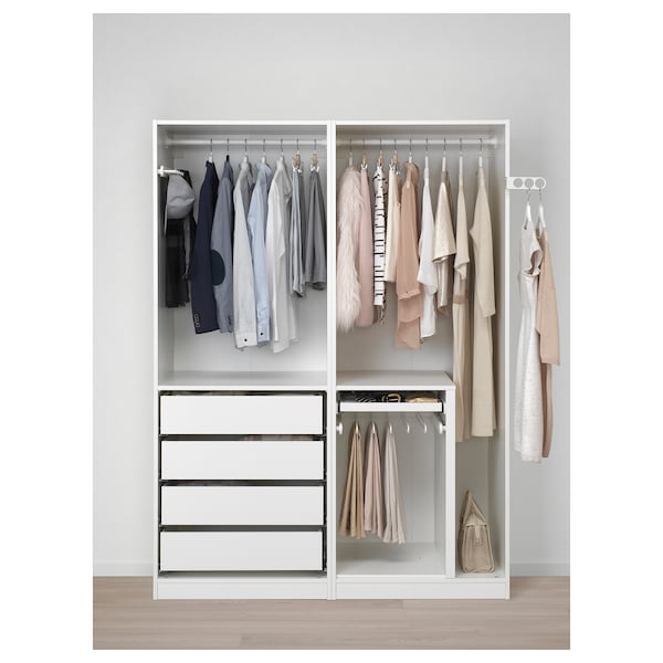 Armoire Penderie Pax Blanc