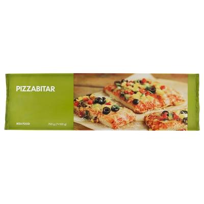 PIZZABITAR Parts de pizza végétarienne surgelé