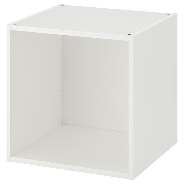 PLATSA structure blanc 60 cm 55 cm 60 cm