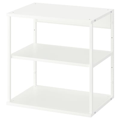 PLATSA étagère blanc 40 cm 60 cm 60 cm
