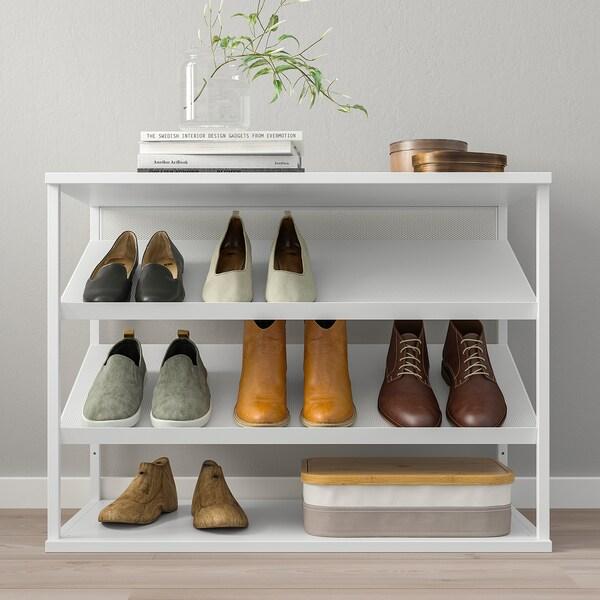 PLATSA Rangement ouvert pour chaussures - blanc - IKEA Suisse