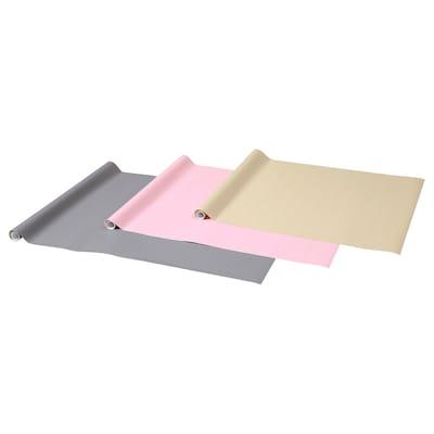PURKEN Papier cadeau, multicolore, 3.0x0.7 m