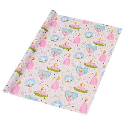 PURKEN Papier cadeau, princesse, 3.0x0.7 m