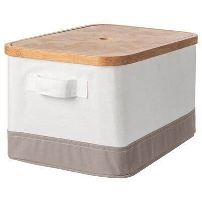 RABBLA Boîte couvercle, 25x35x20 cm