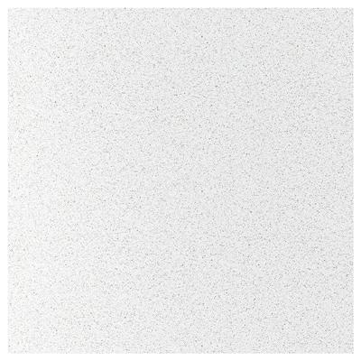RÅHULT Revêtement mural sur mesure, blanc avec effet minéral/scintillant/quartz, 1 m²x1.2 cm