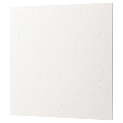 RÅHULT Revêtement mural sur mesure, effet marbre blanc quartz, 1 m²x1.2 cm