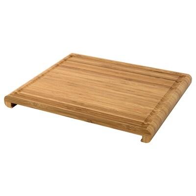 RIMFORSA planche à découper bambou 36 cm 30 cm 30 mm