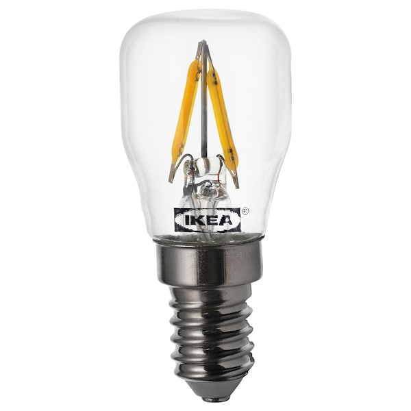 RYET ampoule LED E14 80 lumen transparent 2700 Kelvin 80 lm 27 mm 0.8 W