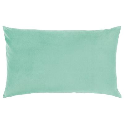 SANELA housse de coussin vert clair 40 cm 65 cm