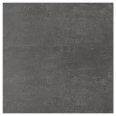 SIBBARP revêtement mural sur mesure imitation ciment/stratifié 10 cm 300 cm 10 cm 120 cm 1.3 cm 1 m²