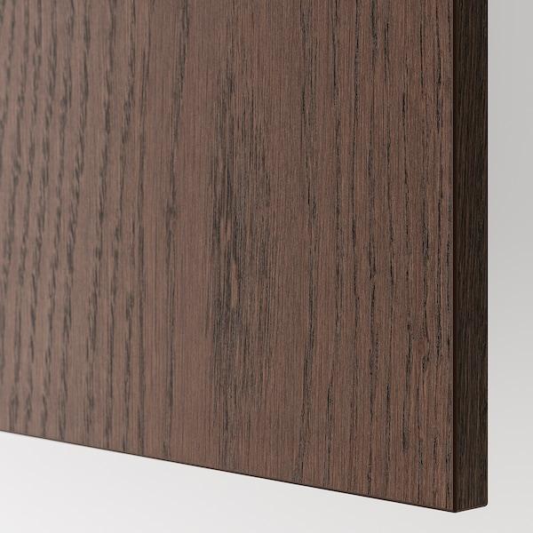 SINARP Panneau latéral de finition, brun, 39x86 cm