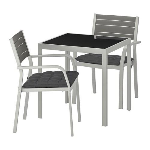 AccoudoirExtVerreHållö Table2 Noir Själland Chaises rdeCxoQBWE