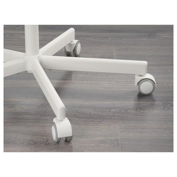 SKÅLBERG / SPORREN chaise pivotante blanc 110 kg 71 cm 71 cm 90 cm 46 cm 40 cm 42 cm 54 cm