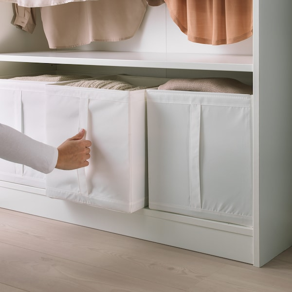 SKUBB rangement tissu blanc 31 cm 34 cm 33 cm 3 pièces