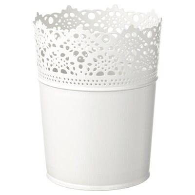 SKURAR cache-pot intérieur/extérieur/blanc cassé 15 cm 12 cm 10.5 cm 12 cm