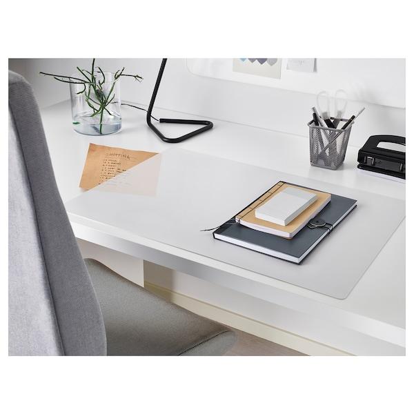 SKVALLRA Sous-main, blanc/transparent, 38x58 cm