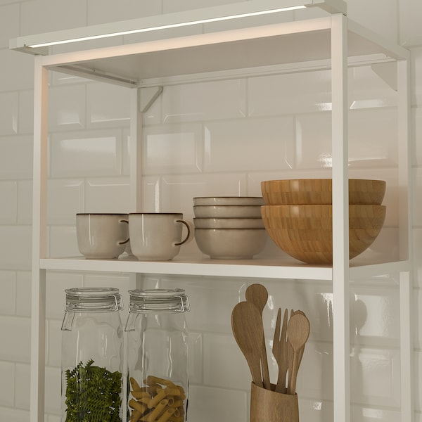 SKYDRAG Bag lumin LED av capt plan trav/arm, intensité lumineuse réglable blanc, 60 cm