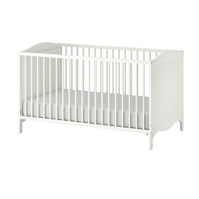 SMÅGÖRA Lit bébé, blanc, 70x140 cm