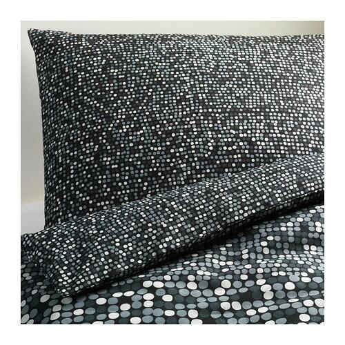 sm rboll housse de couette et taie 150x200 50x60 cm ikea. Black Bedroom Furniture Sets. Home Design Ideas