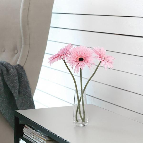 SMYCKA Fleur artificielle, Gerbera/rose, 50 cm