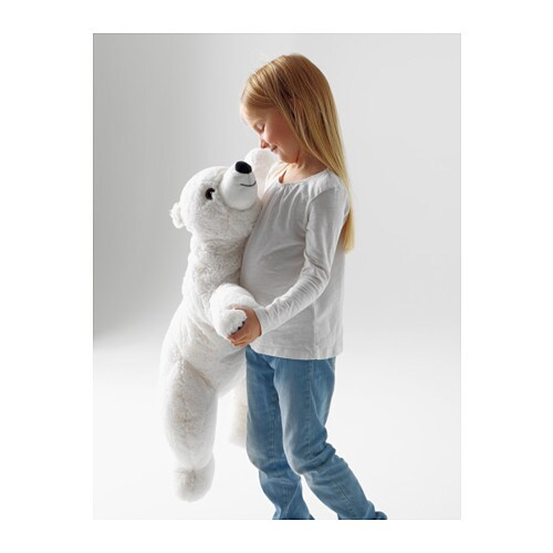Snuttig peluche ikea for Ikea plaid polaire blanc