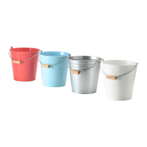 Socker seau cache pot ikea for Decoratives from waste