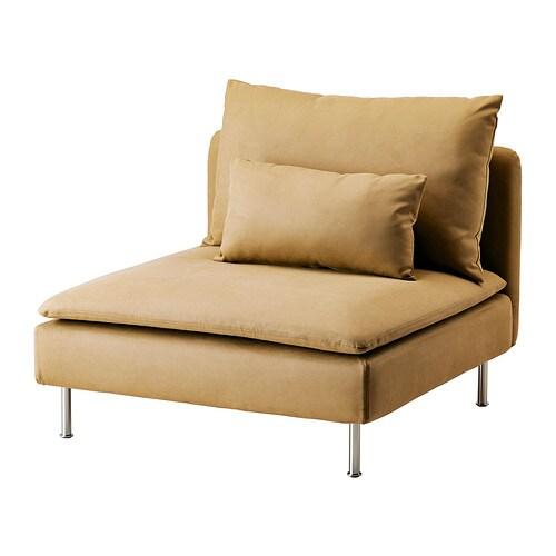 s derhamn housse chauffeuse 1 place samsta jaune fonc ikea. Black Bedroom Furniture Sets. Home Design Ideas